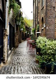 Little Street in Camden Town, London
