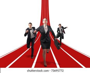 little team race for success