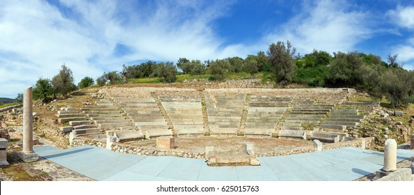 The Little Theatre of Ancient Epidaurus, Peloponnese, Greece