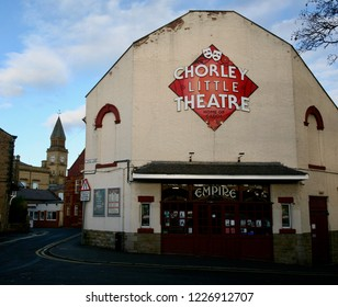 The Little Theatre on Dole Lane in the old market town of Chorley, Lancashire, England, Europe on Sunday, 11th, November, 2018