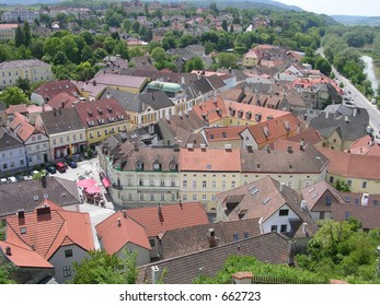 Little Town of Melk, Austria Near Vienna
