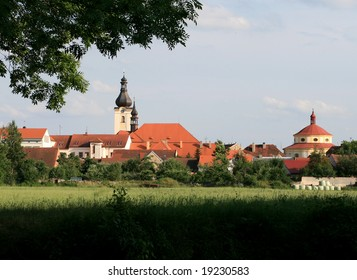 Little town with two churches