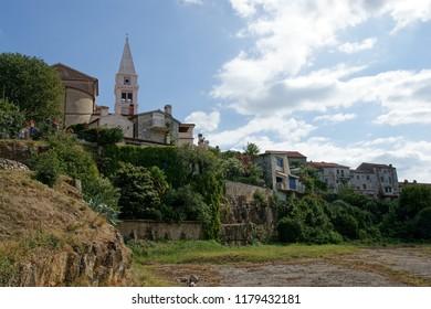 Little town Vrsar on Istria Peninsula