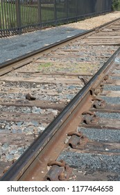 A little used railway line