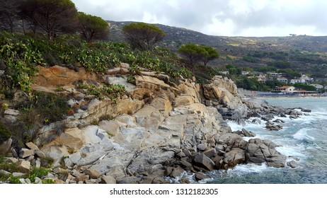 a little view of wild isola d'elba