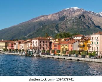 Little village of Gravedona on Como lake