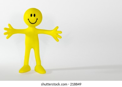 Little yellow man