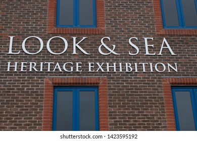 Littlehampton West Sussex England, June 13 2019, Look & Sea Heritage Exhibition