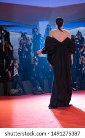 Liv Tyler attends the red carpet of AD ASTRA during the 76th Venice Film Festival on August 29, 2019 in Venice, Italy.