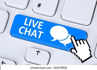 Live Chat contact communication customer service message chatting information