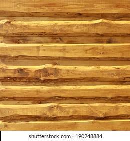 """""""Live edge"""" board siding - spruce wood in oak rustical paint"""