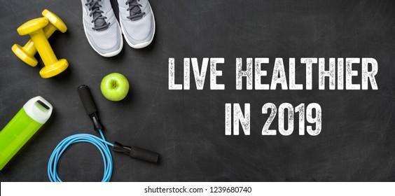 Live healthier in 2019