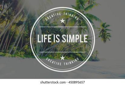 Live Lifestyle Life Alive Balance Concept