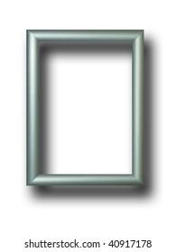 Live silver photo frame