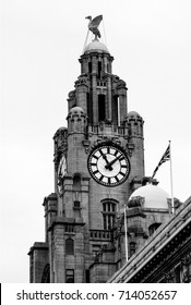 The Liver building in Liverpool