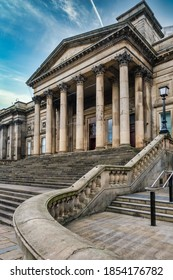 The Liverpool Central Library on the historic St George's Quarter