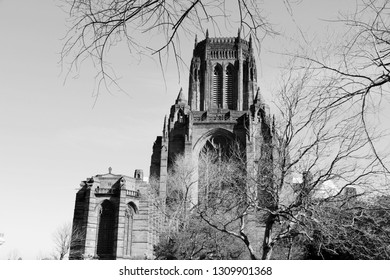 Liverpool - city in Merseyside county of North West England (UK). Liverpool Cathedral.