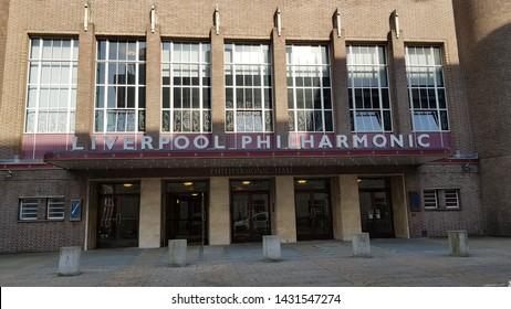 Liverpool, Merseyside, UK. 06/22/2019 Liverpool Philharmonic Music Hall.