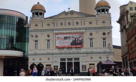Liverpool, Merseyside. UK 07/13/2019 The Playhouse Theatre exterior.
