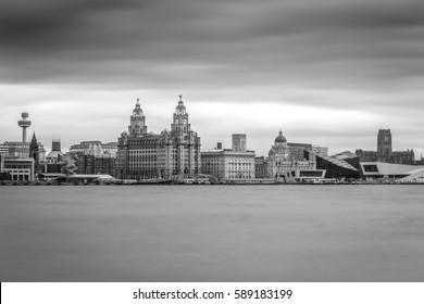 Liverpool Merseyside UK world famous waterfront