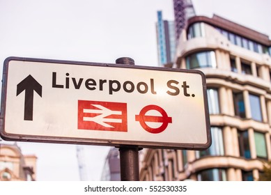 Liverpool St. street sign.