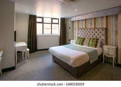 Liverpool, UK - May 16 2018: Interior of a Business hotel room