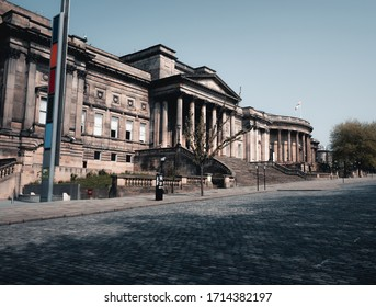 Liverpool, United Kingdom, April 2020: Liverpool World Museum and Central Library