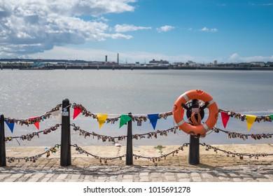 Liverpool Waterfront near Albert Dock, United Kingdom