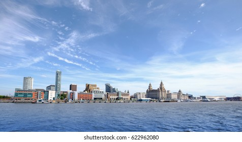 Liverpool waterfront skyline