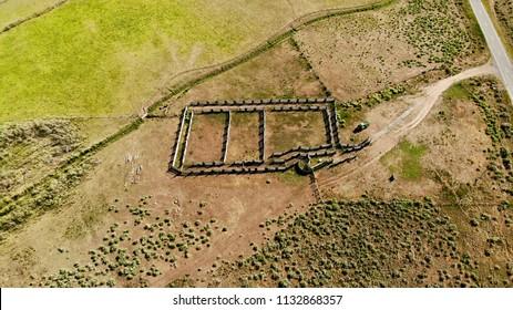 Livestock Pens Near Driggs Mansion Ruins, Unaweep Canyon, Colorado