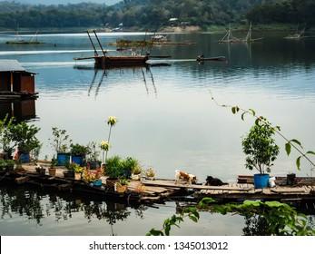Livestyle at Pak Nai Fishing Village,Nan province.