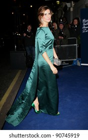 Livia Giuggioli arriving for the 2011 British Fashion Awards, at The Savoy, London. 28/11/2011 Picture by: Alexandra Glen / Featureflash