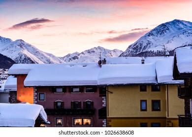 Livigno City - Alps - Italy