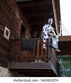 LIVIGNO, ITALY, JUNE 21 2019 - Jack & Jack brand fashion shop in the center of Livigno, Italy