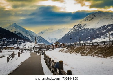 Livigno in winter