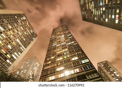 Living block buildings