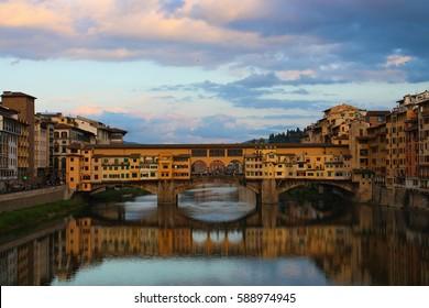 Living bridge in Florance