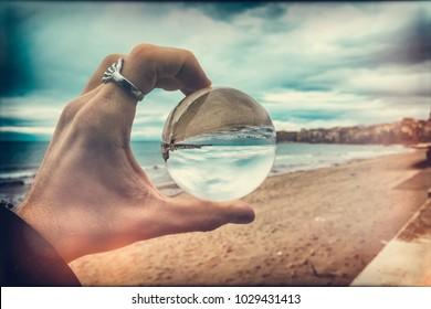 Leben in einer Blase