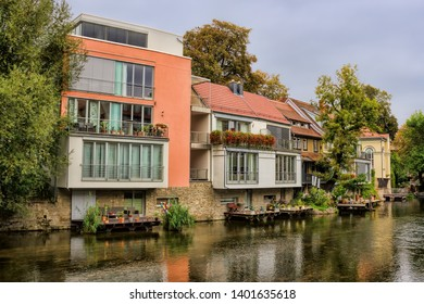 Living by the water in erfurt, germany