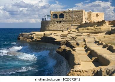 Living at the coast of Gozo, Malta.