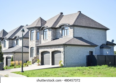 Living expensive homes in Canada.