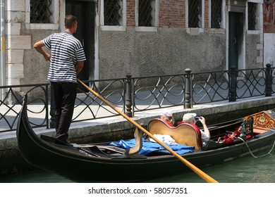 Living in old Venice, Italy