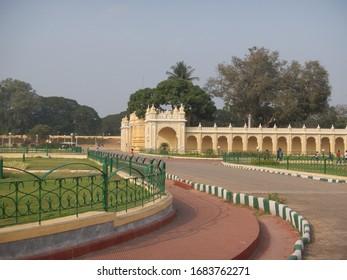 The living palace, Mysore Palace, Mysore India