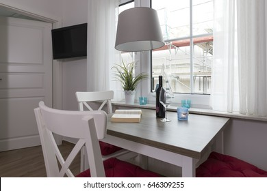 Living room in a holiday apartment