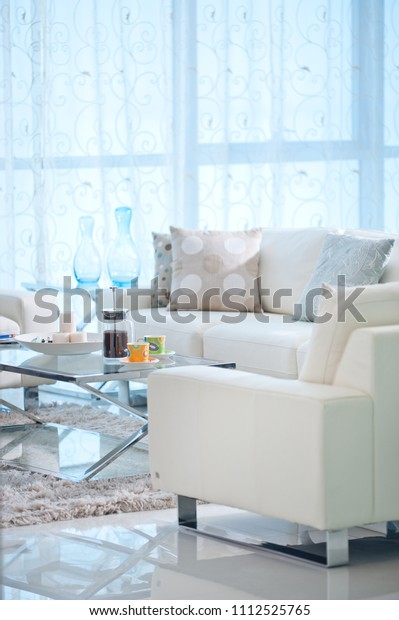 living room interior details