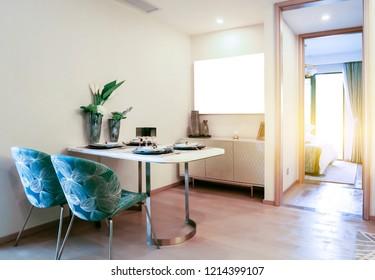 Living room model room