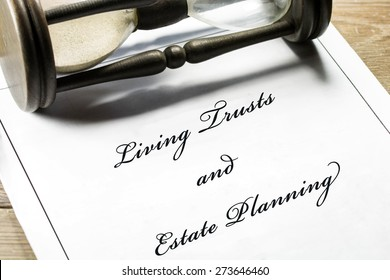 Living Trusts and Estate Planning document