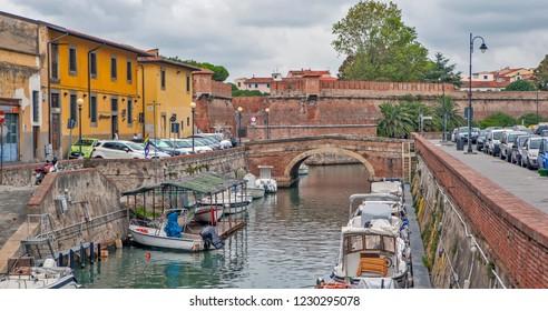 LIVORNO, ITALY - SEPTEMBER 13, 2018: Photo of Cityscape.