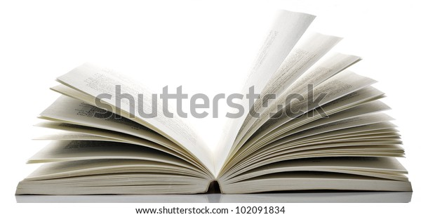 Livre Ouvert Stock Photo Edit Now 102091834