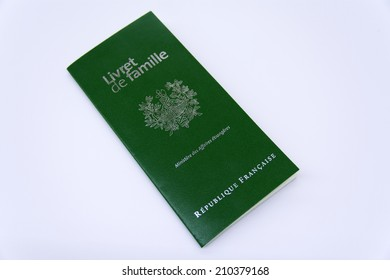 Livret de famille - France marriage certificate